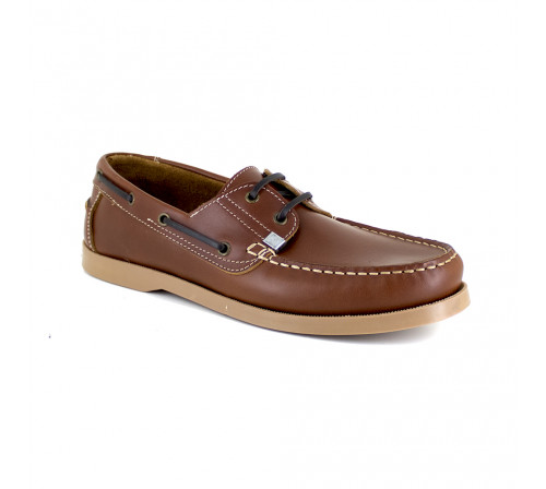Boat Loafer J.Bradford Cognac Leather JB-HECK511