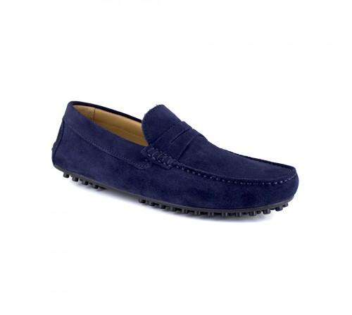Loafer Peter Blade Navy Blue Leather OSIRIS