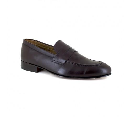 Loafer J.BRADFORD Brown Leather JB-NIQUEL