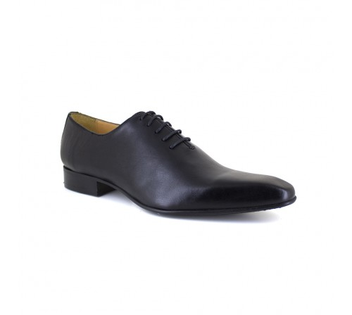 Richelieu J.Bradford Black Leather JB-LOVISA