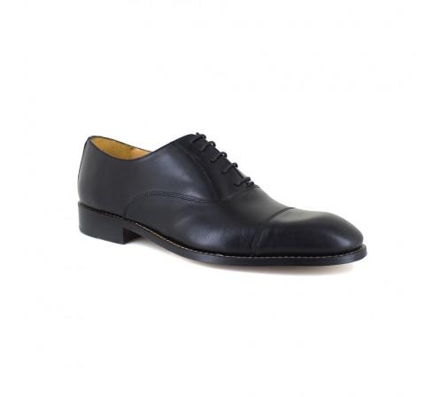 Oxford Shoe J.Bradford Mens Black Leather JB-MONALISA