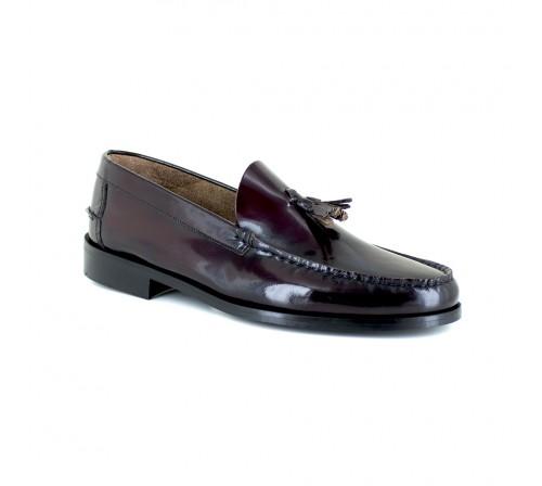 Loafer J.Braddford Burgendy Leather JB-WESLEY