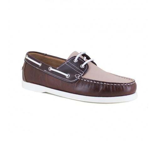 Boat Loafers J.Bradford Cognac Leather JB-NAVIRE