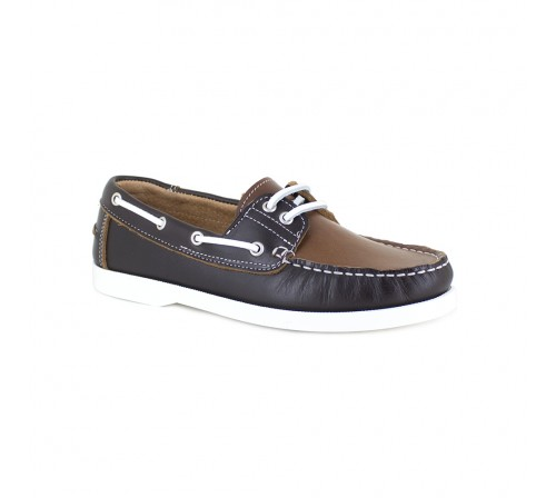 Boat Loafers J.Bradford Brown Leather JB-VOILIER