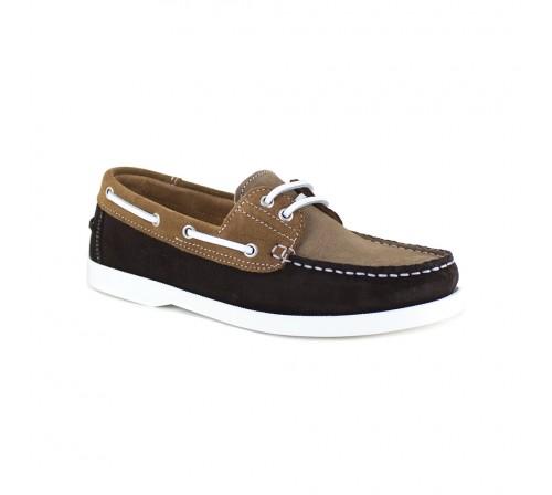 Boat Loafer J.Bradford Brown Leather JB-CORVETTES