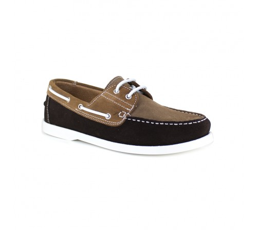 Boat Loafer J.Bradford Brown Leather JB-BABORD