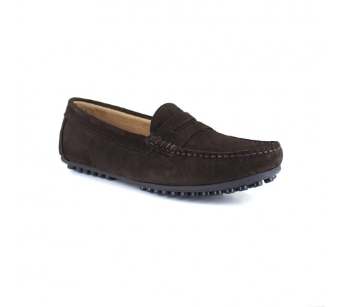 Loafer J.Bradford Brown Leather JB-LEVANTE