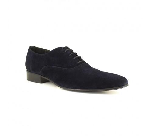Oxford J.Bradford Leather Navy Blue JB-CONNOR