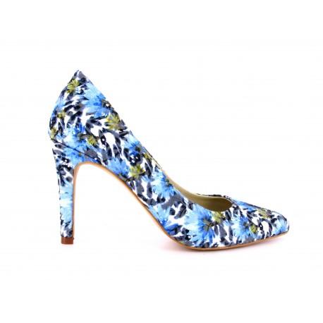 Escarpin Loca Lova Chaussure Multicolor INOUBLIABLE ELVINS - Couleur - Bleu zPdDSK