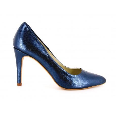 Escarpin Loca lova Cuir Bleu INDEPENDANTE HERCULES - Couleur - Bleu KBgkpu