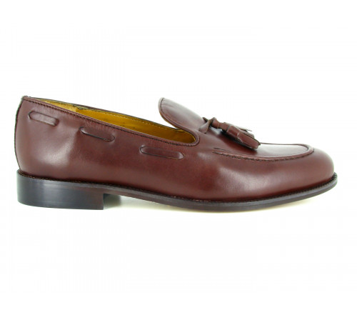 STRADFORD moccasin shoes TWENTY-FIVE brown