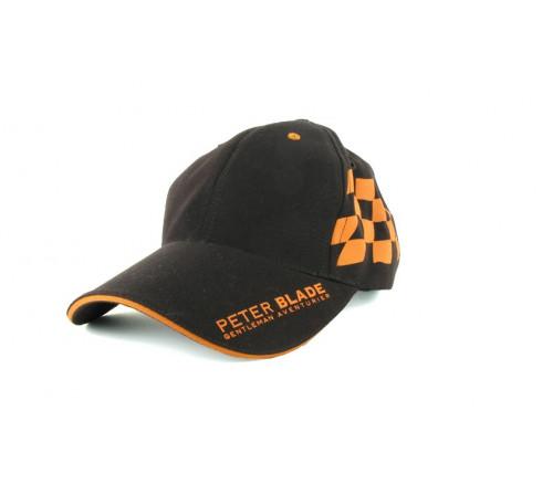 Cap Peter Blade Brown and Orange RACING-TEAM