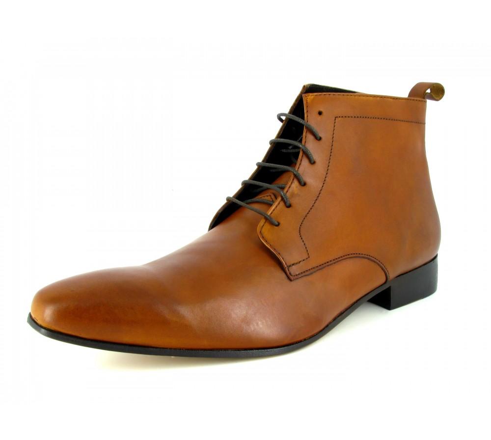 af2e9c9c5db Low Boots PP Roncini Camel Leather RONC-D22