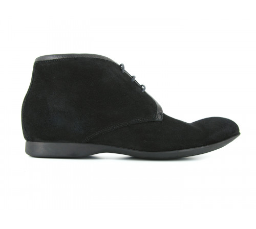 MAX BECKY Boots 6-63 Daim Black