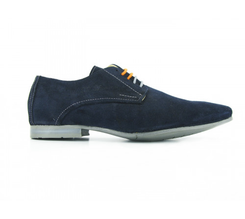 Man shoes Derby Ante blue Andrew Mac Allister