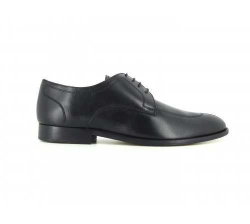 J.Bradford Black leather shoes for man JB-BOOSTER