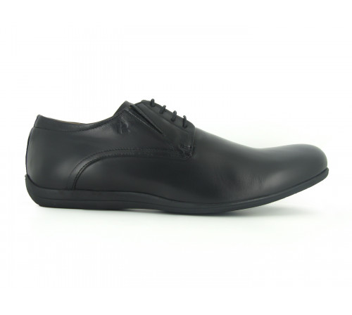 PETER BLADE casual leather shoes Severe black