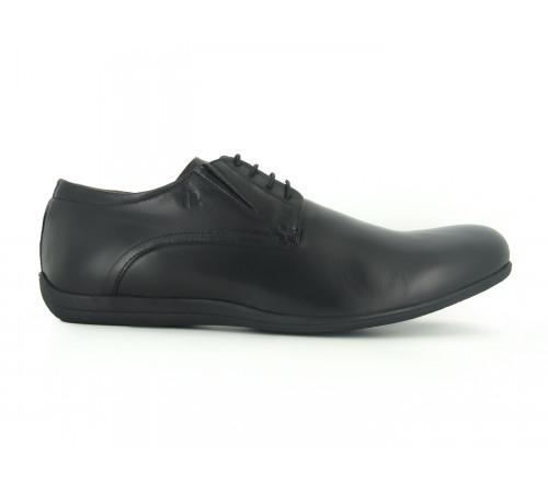PETER BLADE Chaussures Homme Détente  Sport Cuir SEVERE Noir