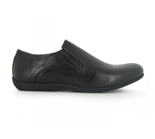 PETER BLADE Casual leather shoes for men Service black