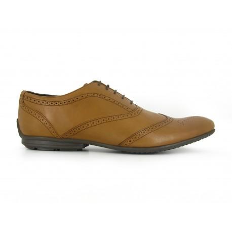 Richelieu J.Bradford Cuero Camel JB-Darius - Color - Marrón, Talla Zapatos - 44