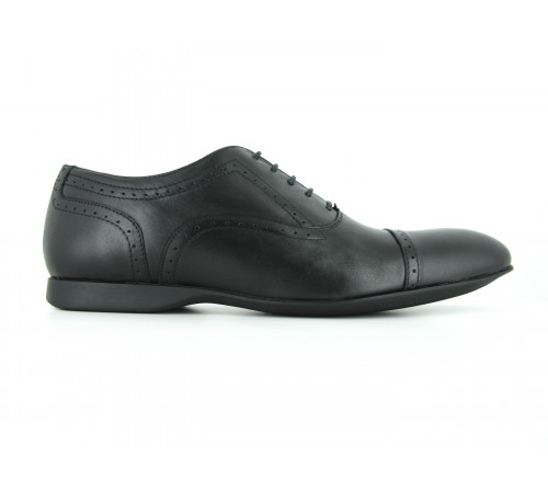 MAX BECKY leather shoes 6-64 black