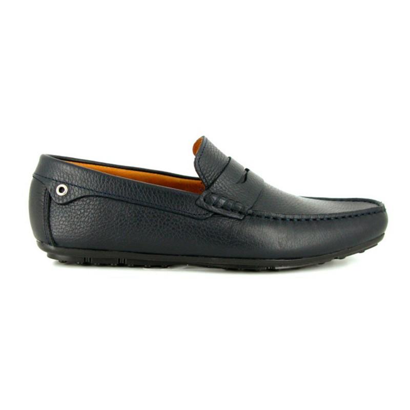 Richelieu J.Bradford Cuero Verde - Color - Verde, Talla Zapatos - 45