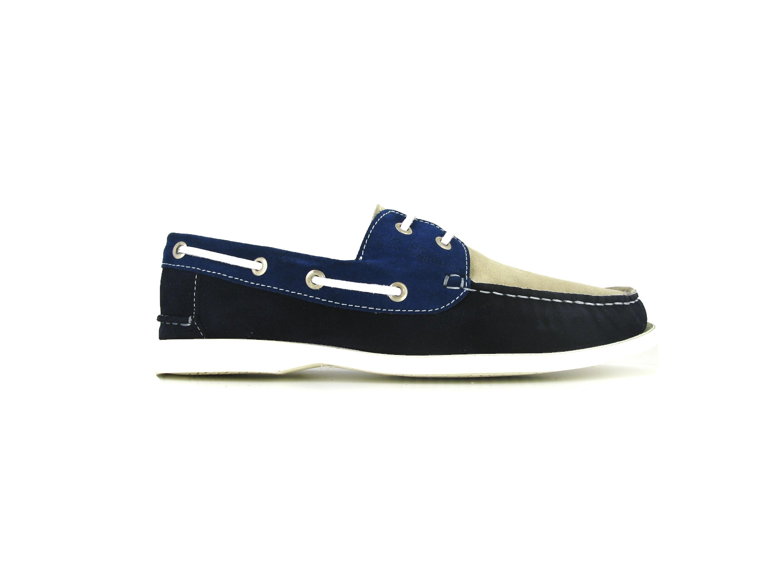Chaussures à lacets Find bleu marine Casual homme kNpfF