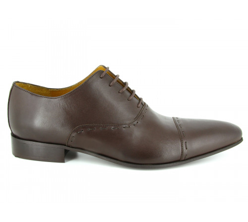 J.BRADFORD Richelieu Shoes JB-DARIUM Brown