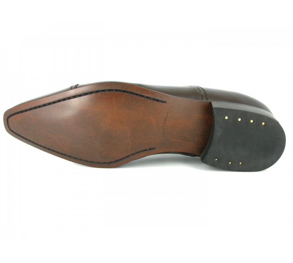 b2fa051f179 J.BRADFORD Chaussures Richelieu JB-DARIUM Marron - ALDEA-VIP