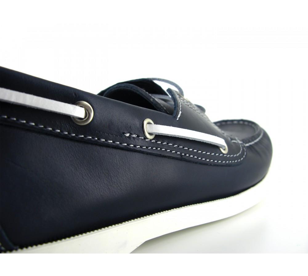 Chaussures bateau Pierre Cuir Bleu Homme Cardin Marine qgBxOvrq