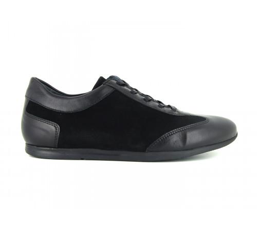PIERRE CARDIN Man Black Leather Shoes PC1610FH