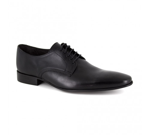 PIERRE CARDIN Man Black Leather shoes PC1605DO