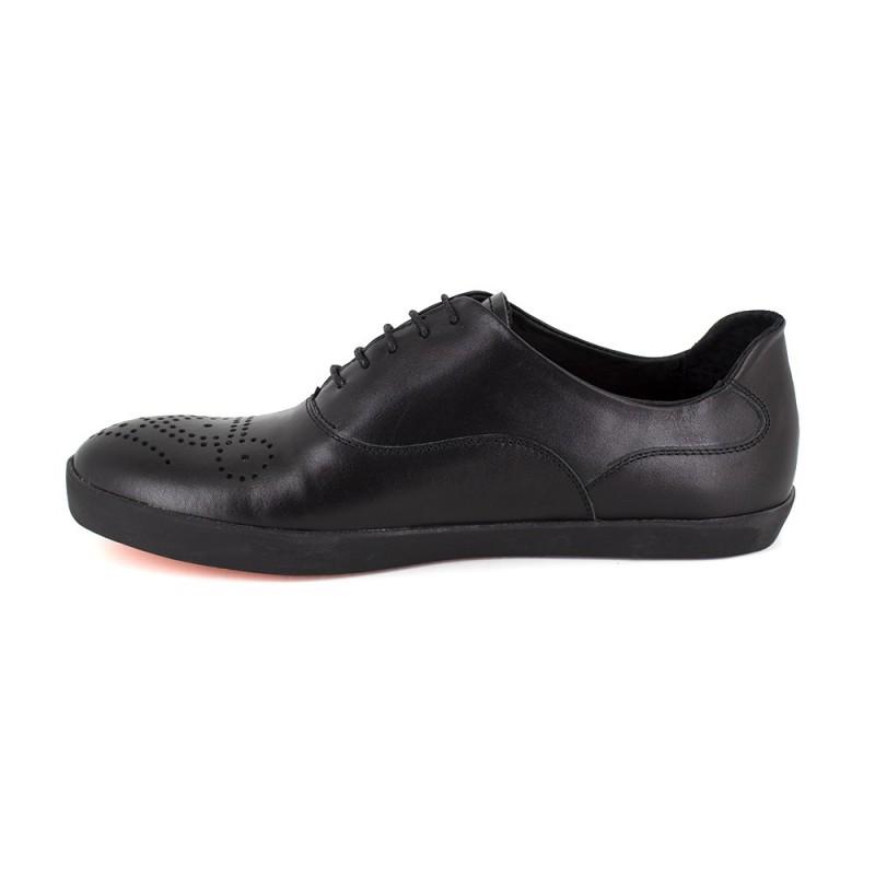 Chaussures à lacets Pierre Cardin bleues Casual homme xaOkoc