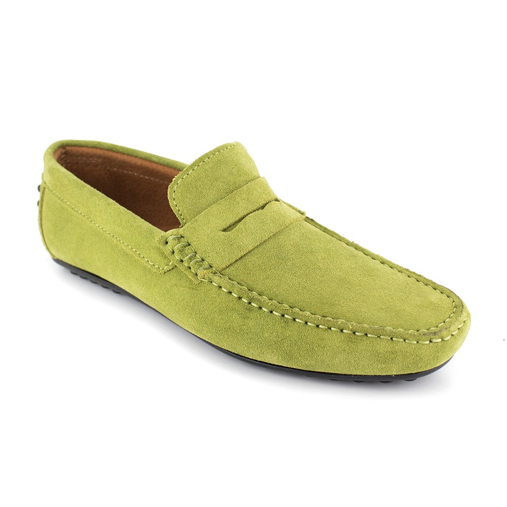 Richelieu J.Bradford Cuero Burdeos - Color - Rojo, Talla Zapatos - 44