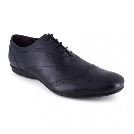 Richelieu J.Bradford Cuero JB-Daniel Camel - Color - Marrón, Talla Zapatos - 40