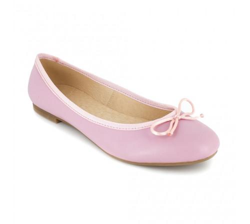 Ballerina Loca Lova Pink Leather VALENTINE