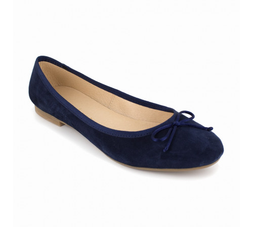 Ballerina Loca Lova Navy Blue Leather MIA