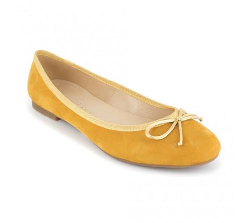 Ballerina Loca Lova Mustard Leather MIA