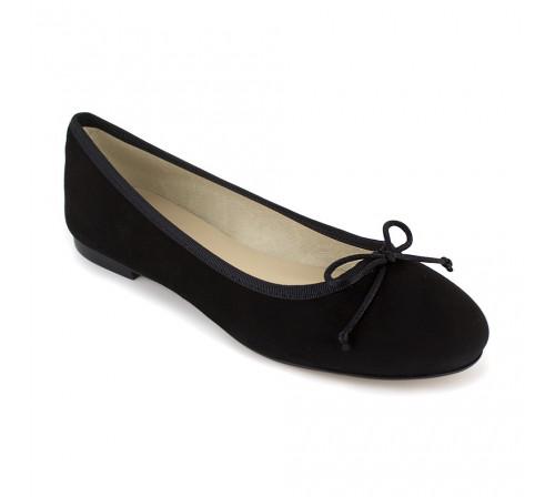 Ballerine Loca Lova Cuir Noir LL225