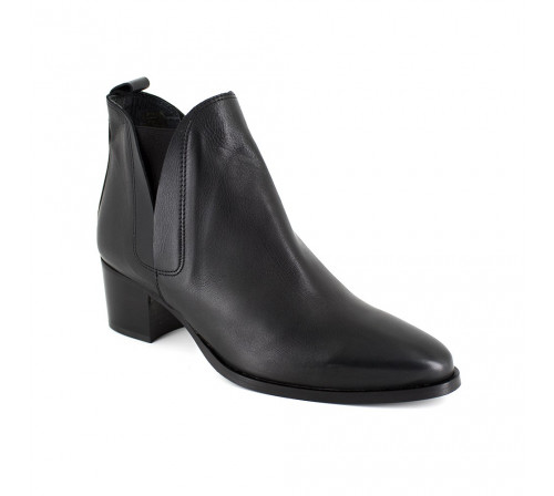 Boots Pierre Cardin Black Leather PC1610CH