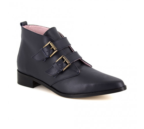 Boots Pierre Cardin Navy Blue Leather PC1610MN