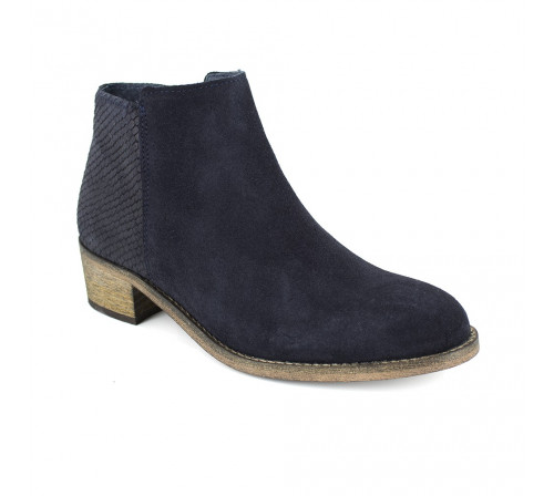 Boots Pierre Cardin Navy Blue Leather PC1610WN