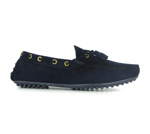 Loafer Pierre Cardin Navy Blue Leather PC1605BE