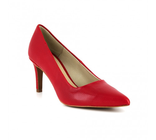 Stiletto Loca Lova Red Shoes INDÉPENDANTE ANTIK DIAMOND