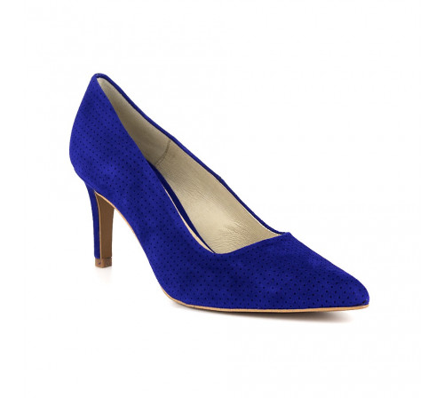 Stiletto J.Bradford Blue Leather JB-MAMEN
