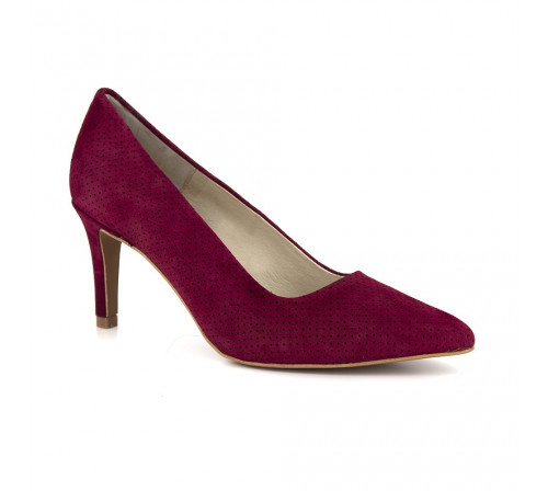 Stiletto J.Bradford Burgundy Leather JB-MAMEN