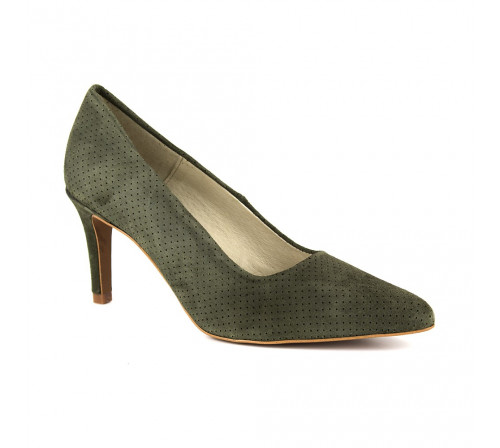 Stiletto J.Bradford Green Leather JB-MAMEN
