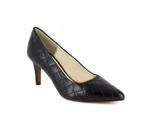 Stiletto J.Bradford Black Leather JB-MAMEN