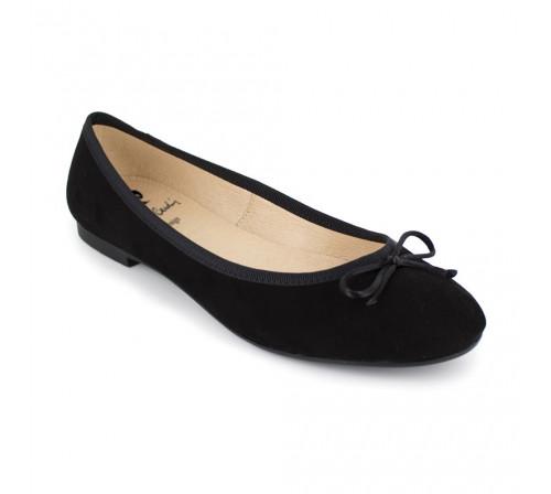 Ballerina Pierre Cardin Black Leather PC1704OM