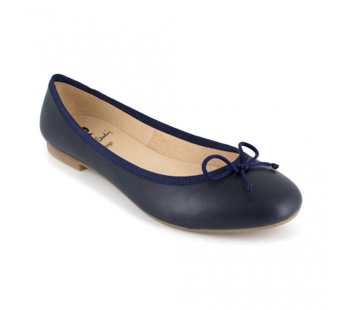 Ballerina Pierre Cardin Navy Blue Leather PC1704OV